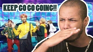 BTS (방탄소년단) - GO GO (고민보다 GO) (FIRST EVER BTS COMEBACK SHOW) REACTION