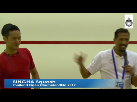 Singha Squash Thailand Open Championship 2017-Day2-PM