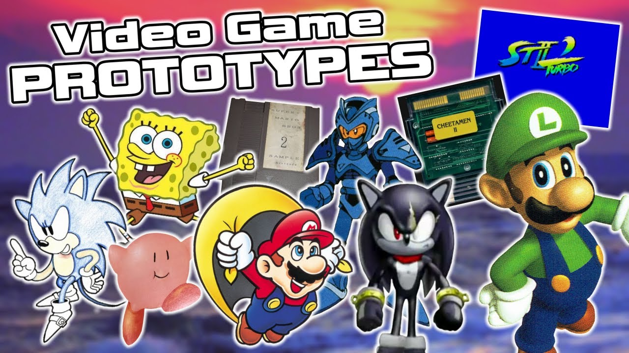 Video Game Prototypes That Changed During Development - Nintendo, Sonic, SpongeBob & More!