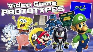 Video Game Prototypes That Changed During Development - Nintendo, Sonic, SpongeBob \u0026 More!