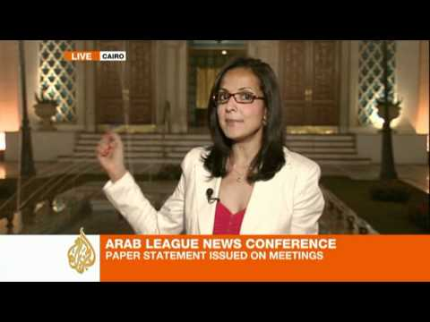 Arab League cancels press briefing