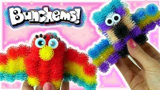 Bunchems Bunchbot • Zwierzęta z rzepów • Kolorowe Ptaki i Długi Wąż • kreatywne zabawy