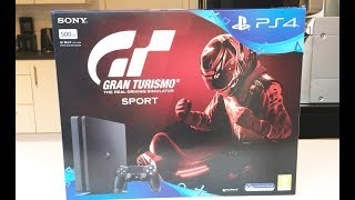 INSANE! GRAN TURISMO SPORT PS4 Console UNBOXING GT 7