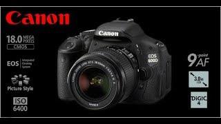 مراجعة كاميرا canon 600D بالعربي