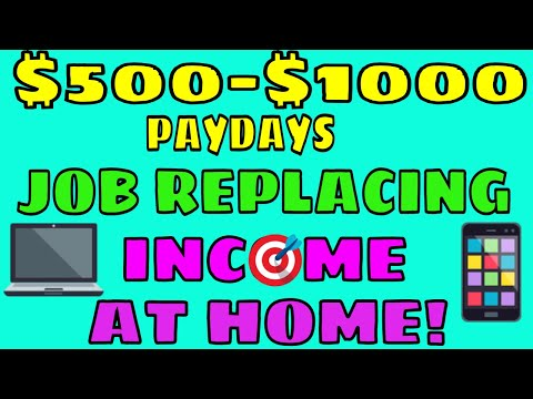 How To Make A Job Replacing Income Online | Making Money From Home