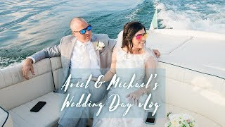 Michael and Ariel's wedding day vlog (Lake Como, Italy)
