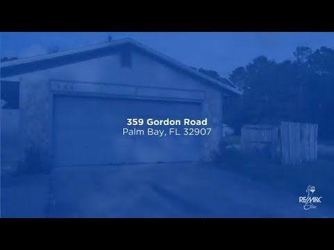 359 Gordon Rd NW, Palm Bay, FL 32907
