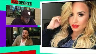 PACKERS' AARON JONES:  HOLLA AT ME, DEMI LOVATO! | TMZ Sports