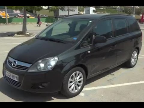 2010 opel zafira review youtube. Black Bedroom Furniture Sets. Home Design Ideas
