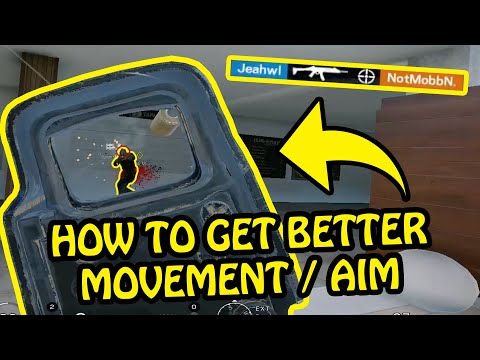 HOW TO GET BETTER AIM AND MOVEMENT IN RAINBOW SIX SIEGE