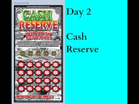 Day 2 - Cash Reserve! (Big Winner Surprise!)
