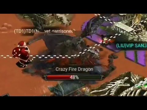 Clash Of Kings : Pathetic Crazy Fire Dragon - Clash Wants Us To Leave Game???