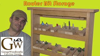 Router Bit Storage Cabinet Part 2