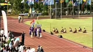 Délégations des IX émes Mini Jeux WF 2013     Cook , Fiji , Nauru , Niue, Norfolk MSM travel