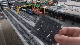 Rails of war placing track