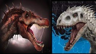 Spinosaurus vs Indominus Rex Trailer