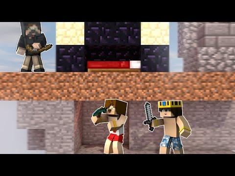ALTTAN YOL YAPARAK YATAK KIRMAYA ÇALIŞMAK ? - Видео из Майнкрафт (Minecraft)