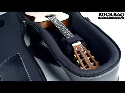Classic Guitar Leather Bag by RockBag