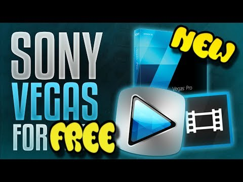 How To Get Sony Vegas Pro 14 for FREE 2017!