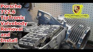 722 6 nag1 w5a580 tiptronic valve body installation