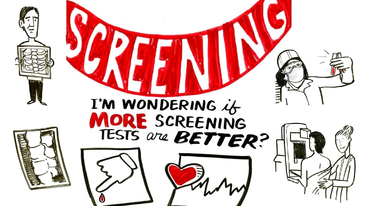 do more screening tests lead to better health choosing wisely youtube