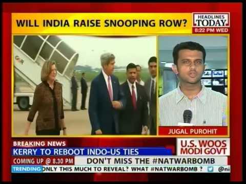 John Kerry lands in India to meet PM Modi