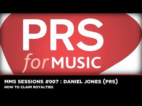 MMS Sessions #007 : Daniel Jones (PRS)