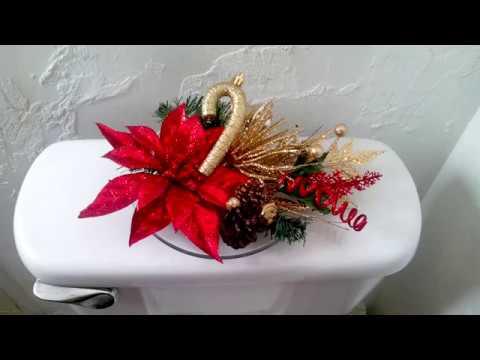 Haz un bonito adorno navide o para tu ba o youtube - Decoraciones de bano ...