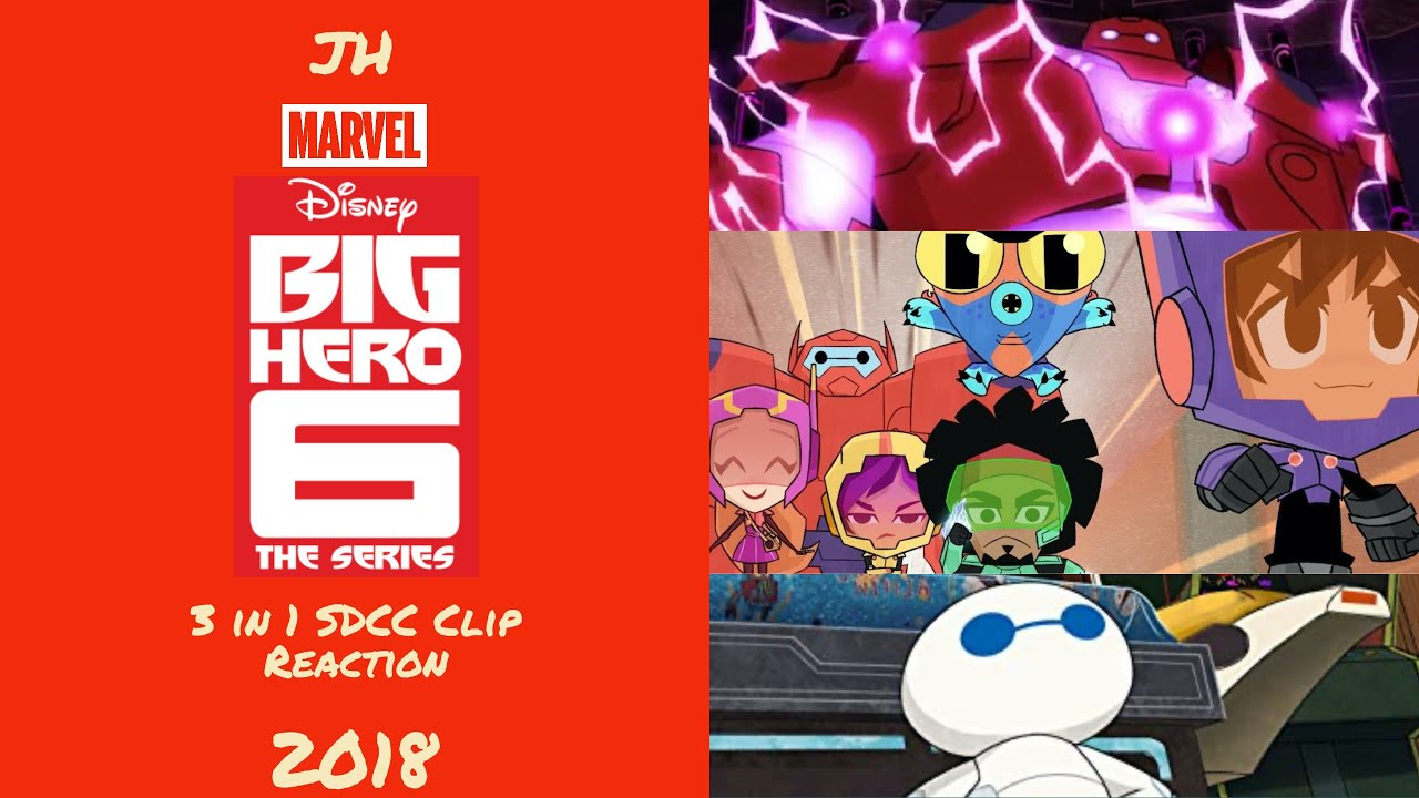 Big Hero 6 3 In 1 Sdcc Clip Reaction Karmi S Fan Fiction Mini Max Overdrive Youtube