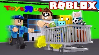 ROBLOX-I STOLE 1 MILLION TOYS FROM THE STORE!!