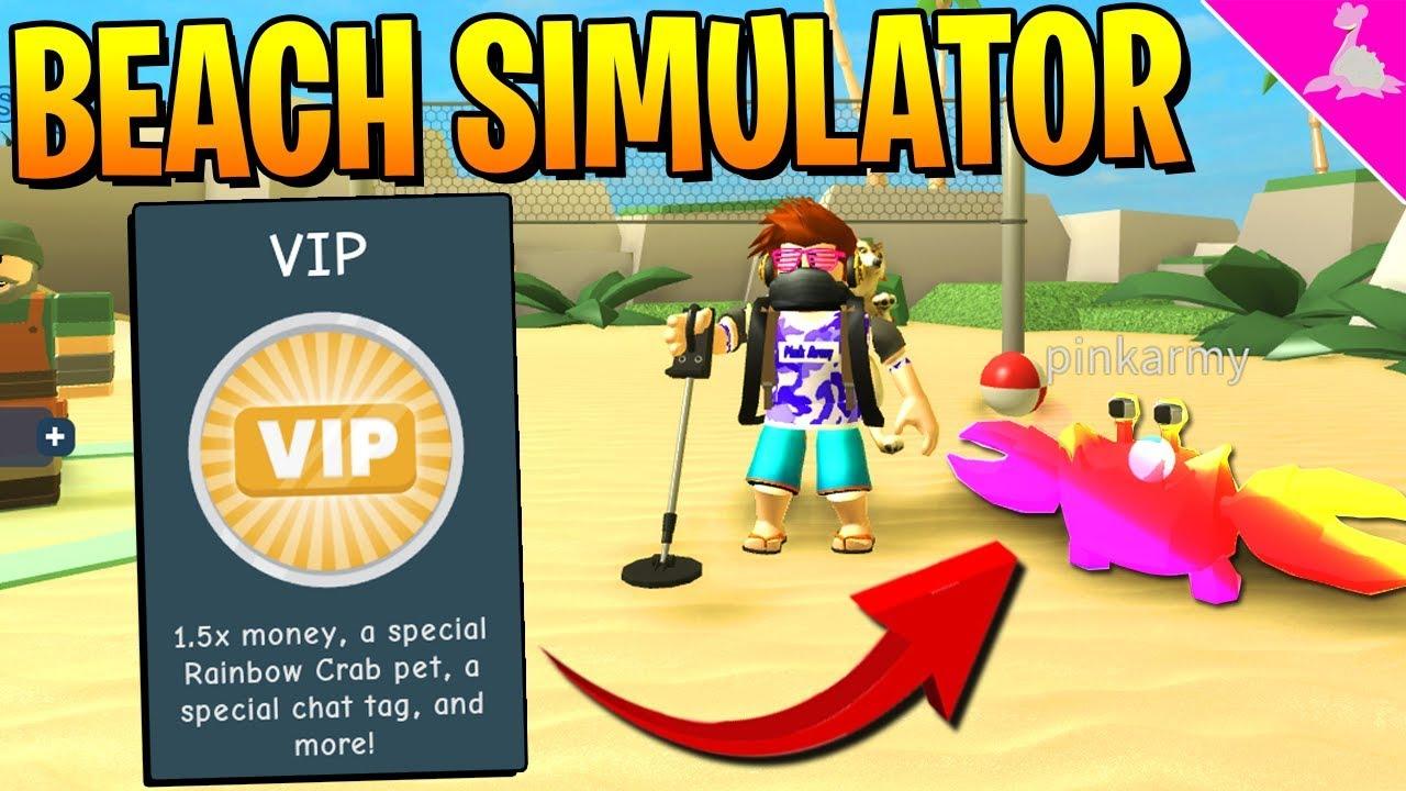 New Roblox Beach Simulator Rainbow Crab Shadow Scythe Giveaway