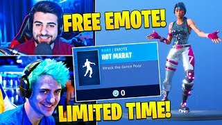 "Streamers React To *FREE* EMOTE ""HOT MARAT"" LIMITED TIME ONLY! - Fortnite FUNNY Twitch Moments"