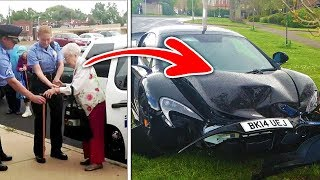 104 year old woman gets arrested and you'll never guess why!