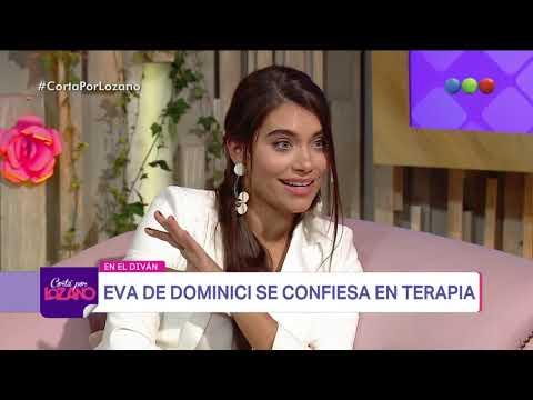 Eva de Dominici en el diván de Vero - Cortá por Lozano 2018