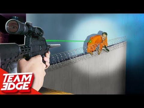 Prison Break Challenge! | Stop the Escapee!!