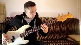 Deftones - Phantom Bride (Bass Cover by Albert ) 2016