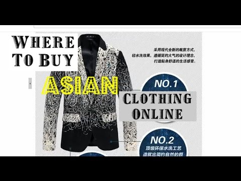 Where To Buy Asian Clothing For Men/Guys Online [Aliexpress Tour ...