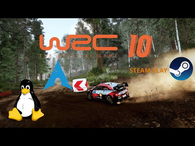 WRC 10 - Linux - Steam Play | Gameplay