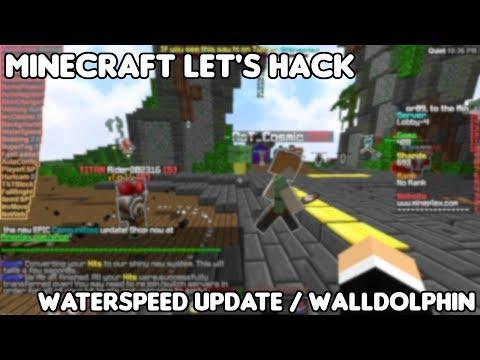 WaterSpeed Update / WallDolphin | Minecraft Let's Hack | Free Minecraft Hack Client