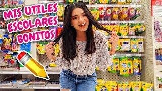 Comprando ÚTILES ESCOLARES en ESTADOS UNIDOS + HAUL  (REGRESO A CLASES 2019) | Gabriela Isabel