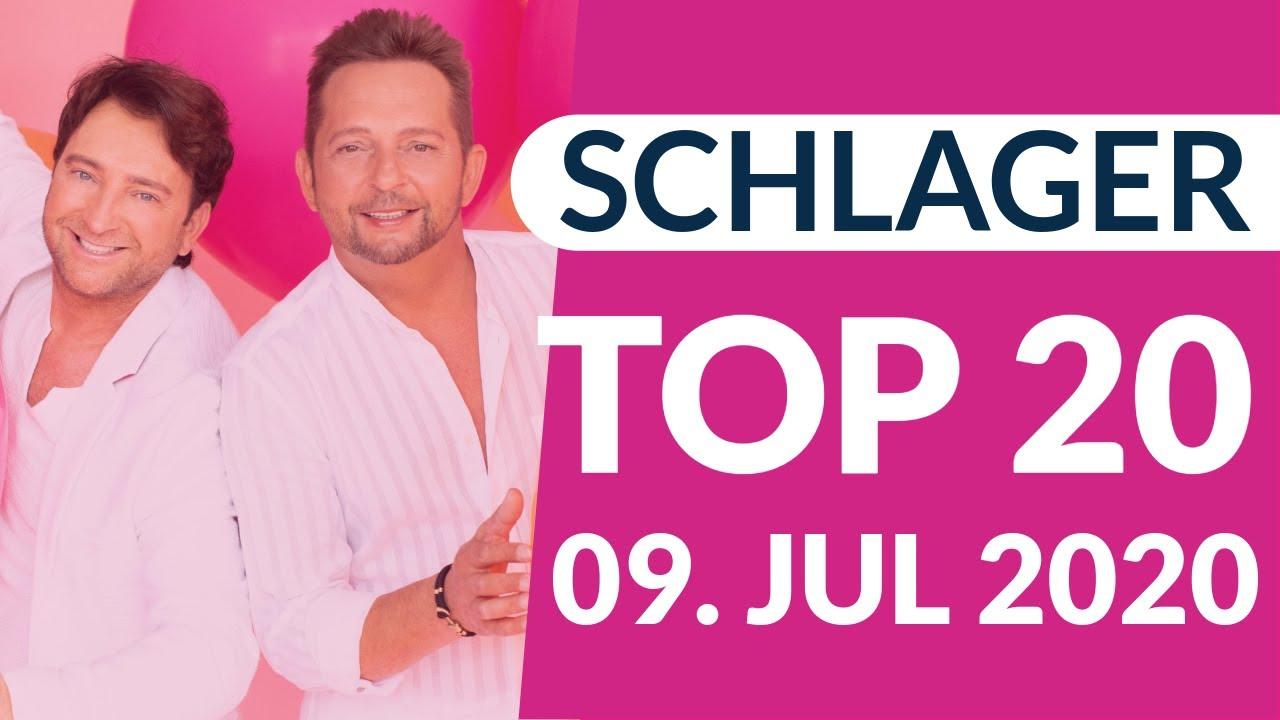 SCHLAGER CHARTS 2020 - Die TOP 20 vom 09. Juli