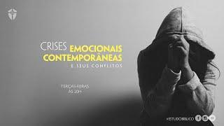 Estudo Bíblico: O Conceito Bíblico de Sofrimento | Crises Emocionais Contemporâneas