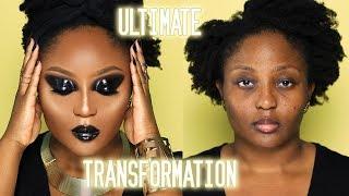 Uhm...Watch me transform? 😳  Basic to Baddie Black Glossy Editorial Edition