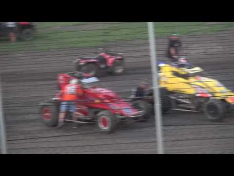 Lakeside Speedway USAC Sprints A Main