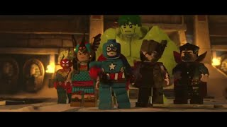 LEGO MARVEL Super Heroes 2 Cpt.Marvel,Doc.Strange,Thor,Hulk,Cpt.America I Sphinx We Have A Problem