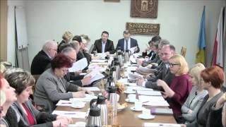 Sesja Rady Gminy Szczerców z dnia 27 stycznia 2016 r.