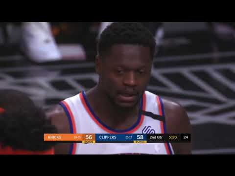 Knicks Get 3 Technical Fouls In 20 Seconds Of Game Time Vs. The Clippers