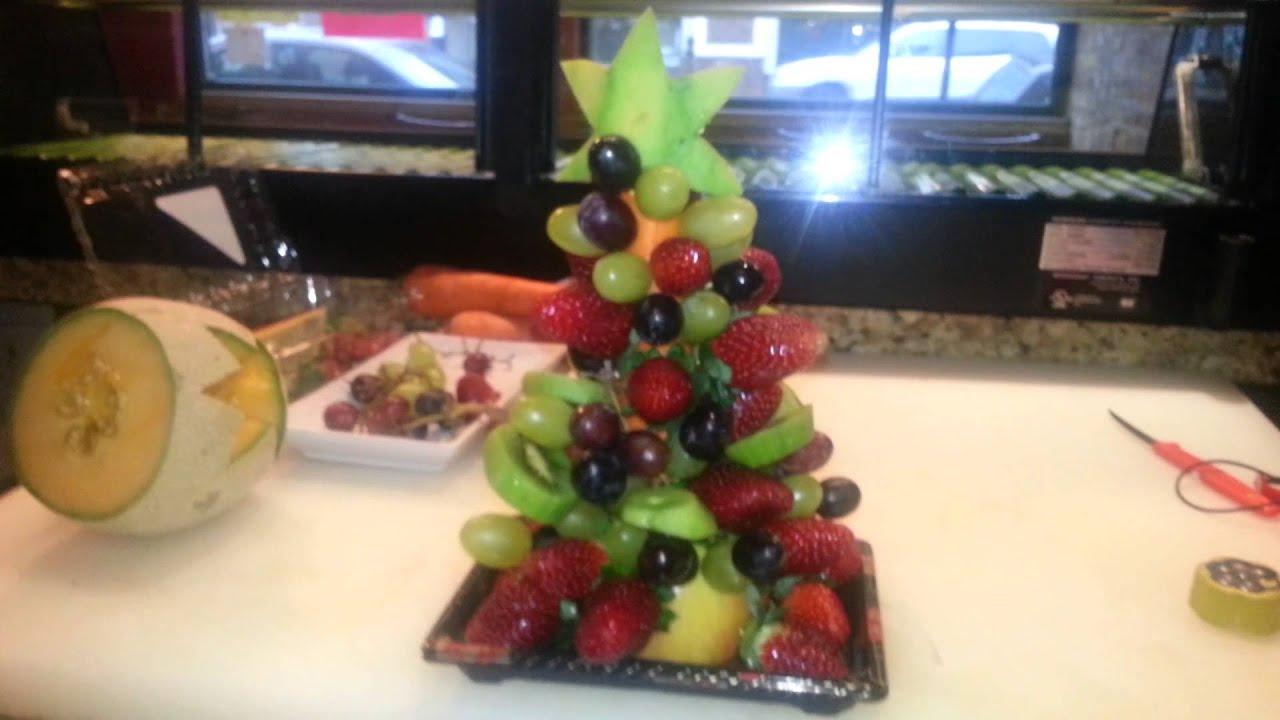 Como decorar una arbol de navidad con fruta youtube - Como decorar pinas para navidad ...