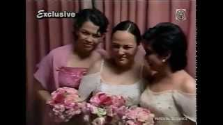 Prelude to Matet de Leon Wedding Part 3 with Nora Aunor
