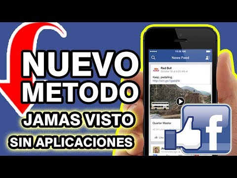 Como DESCARGAR VIDEOS de FACEBOOK a tu MOVIL SIN APLICACIONES 2018
